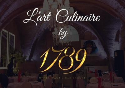 1789 Restaurant – Bar Lounge   Cuisine